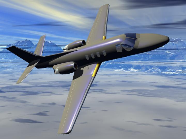 3d aircraft models