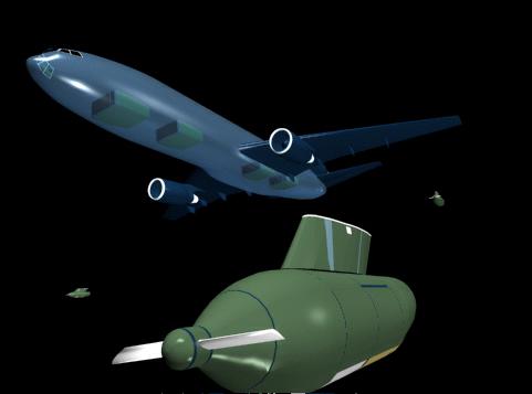 3d aircraft models, test drive 3d